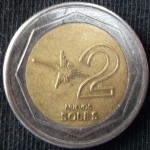 monedas de America - Perú -  2007 (Reverso)