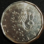 monedas de Europa - República Checa -  2001 (Anverso)