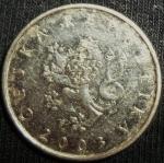 monedas de Europa - República Checa -  2003 (Anverso)
