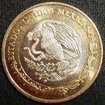 monedas de America - México -  2014 (Reverso)