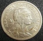 monedas de Europa - Portugal -  1958 (Anverso)