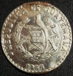 monedas de America - Guatemala -  1966 (Anverso)