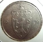 monedas de Europa - Noruega -  1979 (Anverso)