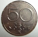 monedas de Europa - Noruega -  1979 (Reverso)