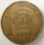 monedas de America - Rep Dominicana -  1991 (Reverso)