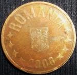 monedas de Europa - Rumania -  2006 (Anverso)