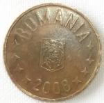 monedas de Europa - Rumania -  2008 (Anverso)