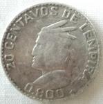 monedas de America - Honduras -  1952 (Anverso)
