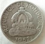 monedas de America - Honduras -  1952 (Reverso)