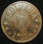 monedas de Europa - Rumania -  2009 (Anverso)