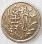 monedas de Asia - Singapur -  1968 (Anverso)
