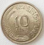 monedas de Asia - Singapur -  1976 (Reverso)