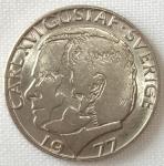 monedas de Europa - Suecia -  1977 (Anverso)