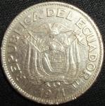 monedas de America - Ecuador -  1971 (Anverso)
