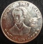 monedas de America - Ecuador -  2000 (Anverso)