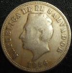 monedas de America - El Salvador -  1956 (Anverso)