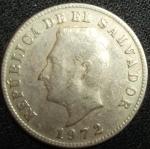 monedas de America - El Salvador -  1972 (Anverso)