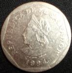monedas de America - El Salvador -  1994 (Anverso)
