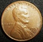 monedas de America - Estados Unidos -  1957 (Anverso)