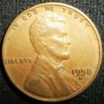 monedas de America - Estados Unidos -  1958 (Anverso)