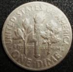 monedas de America - Estados Unidos -  1966 (Reverso)