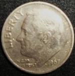 monedas de America - Estados Unidos -  1967 (Anverso)