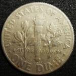 monedas de America - Estados Unidos -  1968 (Reverso)
