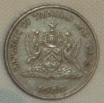 monedas de America - Trinidad y Tobago -  1980 (Anverso)