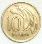 monedas de America - Uruguay -  1968 (Reverso)
