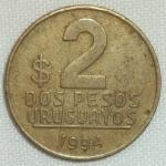 monedas de America - Uruguay -  1994 (Reverso)