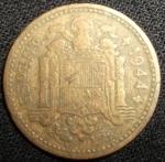 monedas de Europa - España -  1944 (Anverso)
