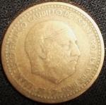 monedas de Europa - España -  1947 (Anverso)