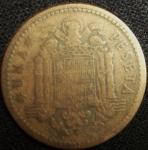 monedas de Europa - España -  1947 (Reverso)