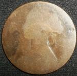 monedas de Europa - Reino Unido -  1862 (Anverso)