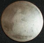monedas de Europa - Reino Unido -  1862 (Reverso)