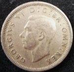monedas de Europa - Reino Unido -  1947 (Anverso)