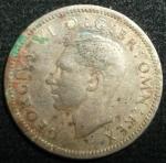 monedas de Europa - Reino Unido -  1948 (Anverso)