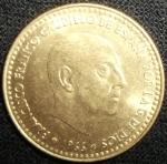 monedas de Europa - España -  1966 (Anverso)