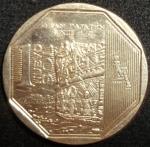 monedas de America - Perú -  2011 (Reverso)