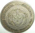 monedas de America - Colombia -  1958 (Reverso)