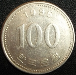 monedas de Asia - Corea del sur -  1996 (Reverso)