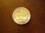 monedas de Europa - Bélgica -  Derechos Humanos