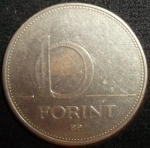 monedas de Europa - Hungría -  1993 (Reverso)