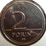 monedas de Europa - Hungría -  1996 (Reverso)