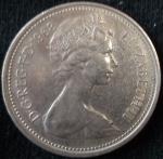 monedas de Europa - Reino Unido -  1968 (Anverso)