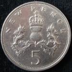 monedas de Europa - Reino Unido -  1968 (Reverso)
