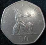 monedas de Europa - Reino Unido -  1969 (Reverso)
