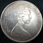 monedas de Europa - Reino Unido -  1969 (Anverso)