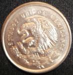monedas de America - México -  1950 (Reverso)