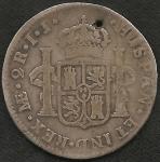 monedas de America - Perú -  1722 - 2 Reales (A)